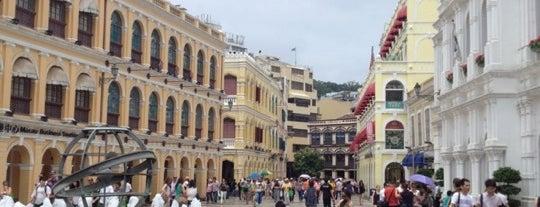 Senado Square is one of Discover: Macau.