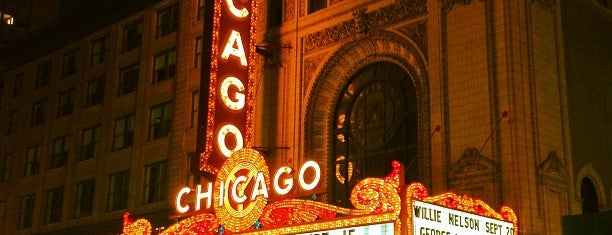 The Chicago Theatre is one of Explore Chicago - On Location.