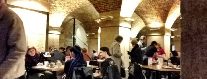 Café In The Crypt is one of London food.
