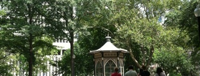 Rittenhouse Square is one of Historic Philadelphia.