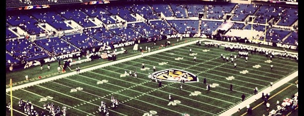 M&T Bank Stadium is one of NFL STADIUMS IVE BEEN TO.