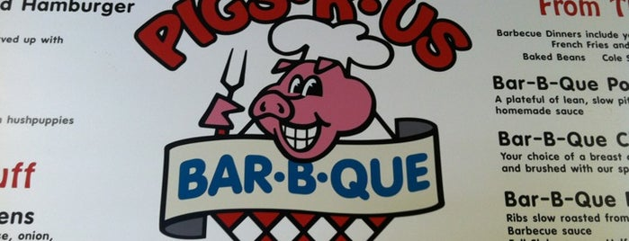 Pigs R Us is one of Virginia BBQ.