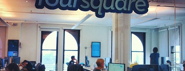 Foursquare HQ is one of USA Trip 2013 - New York.