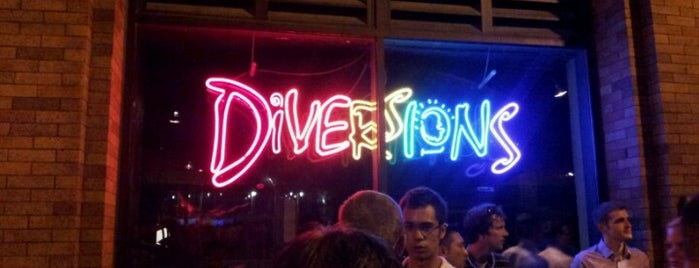 Diversions is one of favorite places.