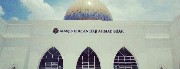 IIUM Mosque (Masjid Sultan Haji Ahmad Shah) is one of masjid.