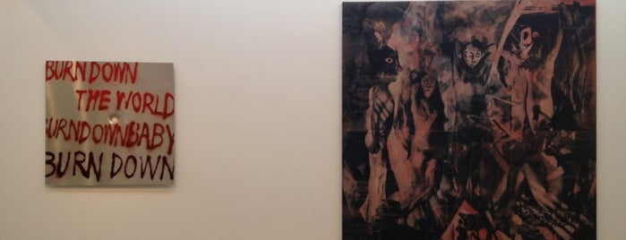 Tony Shafrazi Gallery is one of fantastic gallery shows.