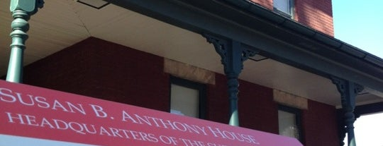 National Susan B. Anthony Museum & House is one of Roc.