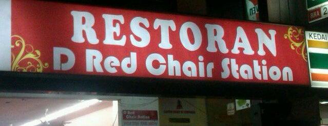 Restoran D Red Chair Station is one of SHISHA BERKUASA TINGGI.