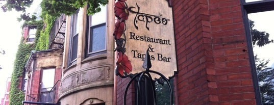 Tapeo Restaurant and Tapas Bar is one of Boston.