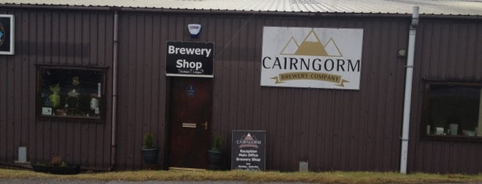 Cairngorm Brewery is one of GreaterSpeyside.