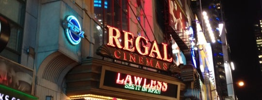 Regal Cinemas E-Walk 13 & RPX is one of USA Trip 2013 - New York.