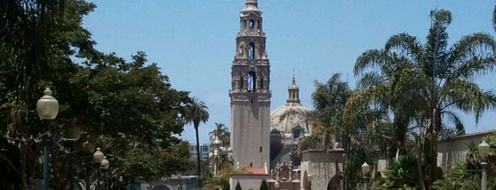 Balboa Park is one of San Diego's 59-Mile Scenic Drive.