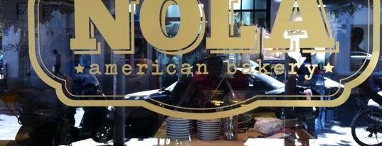 NOLA American Bakery is one of Tel Aviv.