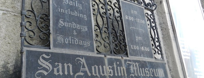 San Agustin Museum is one of Filipinler-Manila ve Palawan Gezilecek Yerler.