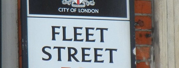 Fleet Street is one of Around The World: London.
