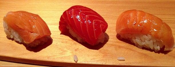Sushi Yasuda is one of NYC Michelin Star Sushi - 2017.