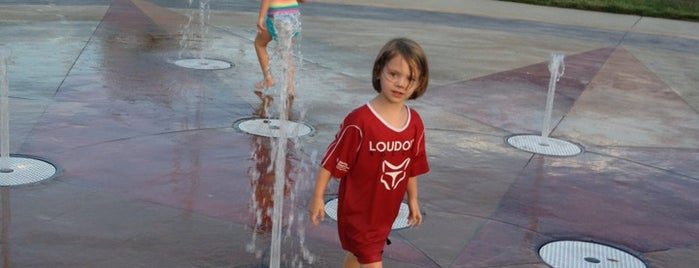 Lansdowne Fountains is one of Fun and Entertainment.
