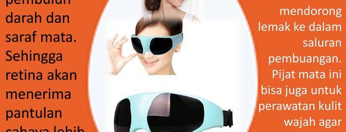 Spa is one of Alat Pijat Mata 081380783912 Eye Care Massager.