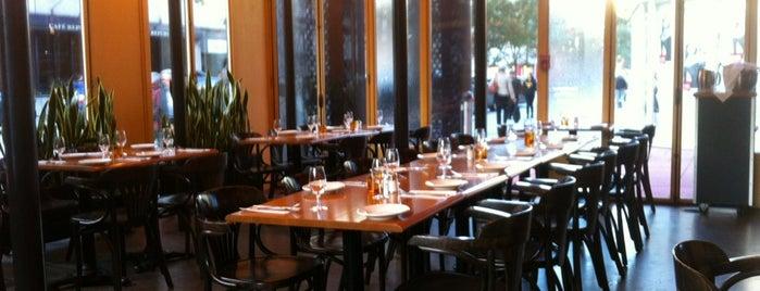 Café du Nouveau Monde is one of Best Terrasses in Montreal.