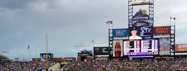 Coors Field is one of Events To Visit....