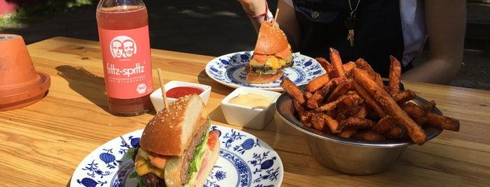 Hackbert is one of Burger!.