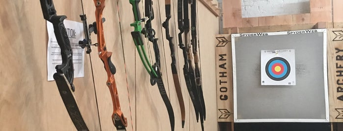 Gotham Archery is one of The 15 Best Places with Good Service in Brooklyn.