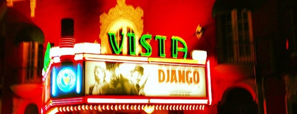 Vista Theater is one of LA by Sew.