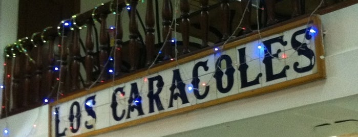 Los Caracoles is one of Bares, almuerzos, comida variadita normal....