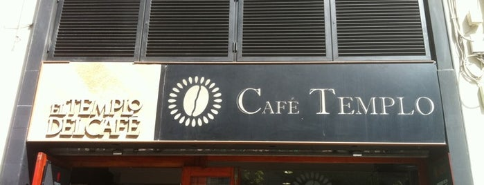 Café Templo is one of Cafeteo con encanto en Valencia.