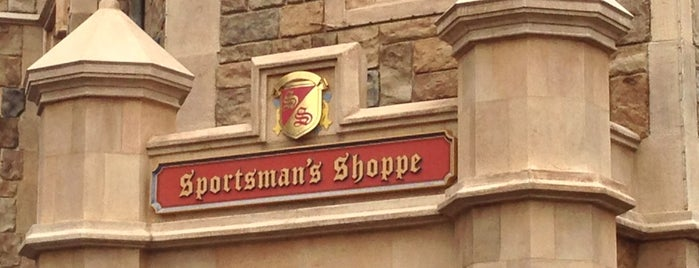 Sportsman's Shoppe is one of Epcot World Showcase.