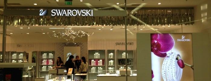 Swarovski is one of KÖKI Terminál.
