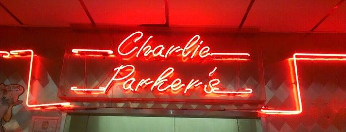 Charlie Parker's Diner is one of DINER DRIVE-INS & DIVES 2.