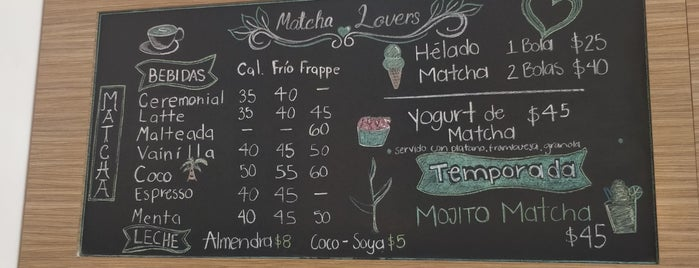 Matcha Mío is one of Being here.