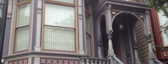 The Grateful Dead House is one of San Francisco.
