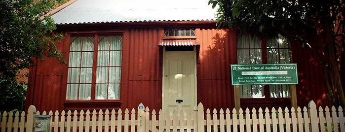 Portable Iron Houses is one of Open House Melbourne.