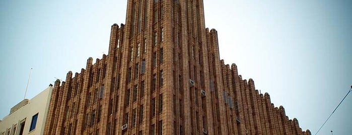 Manchester Unity Building is one of Open House Melbourne.
