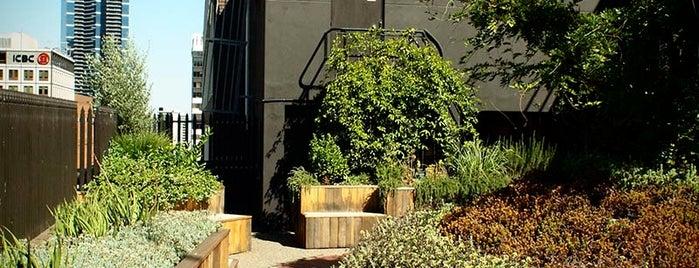 131 Queen Street Growing Up Rooftop Garden is one of Open House Melbourne.