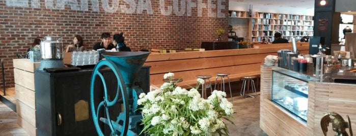 TERAROSA COFFEE is one of Cafes in Seoul.