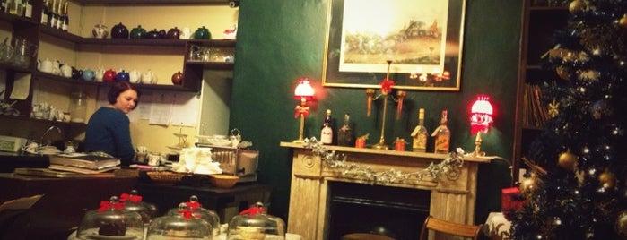 Soho's Secret Tea Room is one of london tea time.