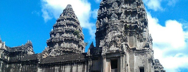 Angkor Wat is one of Dream Destinations.