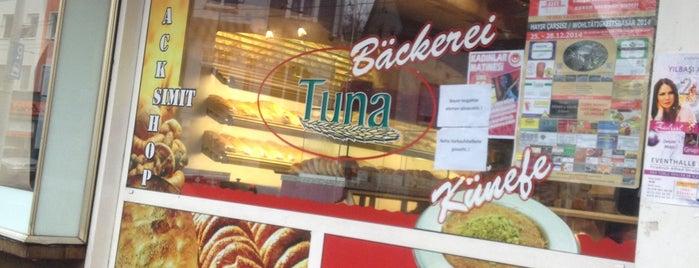 Tuna is one of Mekanda yemek yenecek, lezzet hakkında bilgi yazil.