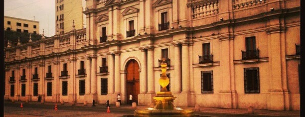 Palacio de La Moneda is one of Volta ao Mundo oneworld: Santiago.