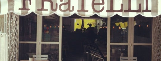 FRaTeLLi is one of Cafés.