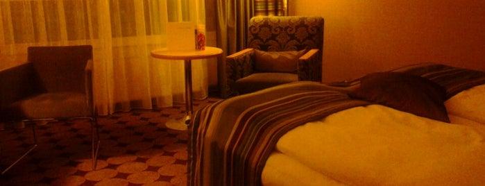 Mövenpick Hotel Nürnberg Airport is one of Nürnberg, Deutschland (Nuremberg, Germany).