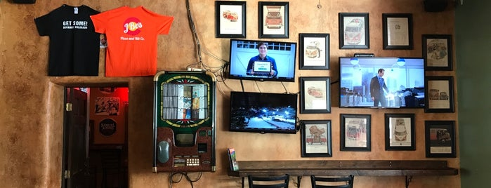 J Bo Pizza & Rib Co is one of Best Bars in Colorado to watch NFL SUNDAY TICKET™.
