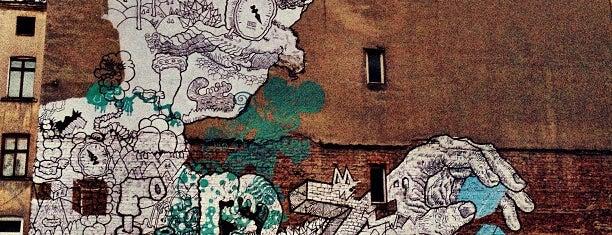 Mural LDZ (Gonsior) is one of Łódzkie Murale.