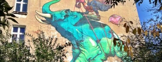 Mural Baloon (Etam) is one of Łódzkie Murale.
