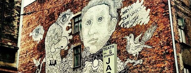 Mural Nowa Klasyka Europy (Gonsior) is one of Łódzkie Murale.