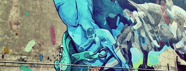Mural Bang! (Sat One/Etam) is one of Łódzkie Murale.