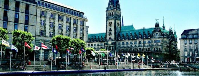 Hamburg is one of cities.